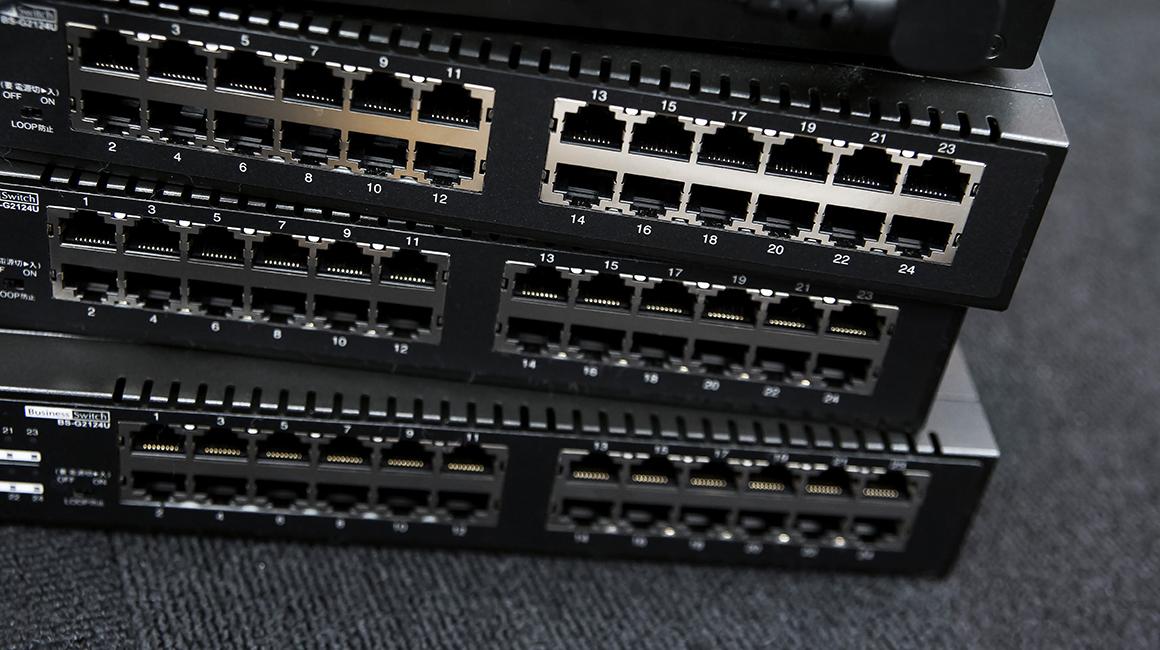 LAN配線工事の接続形態「ネットワークトポロジー」とは
